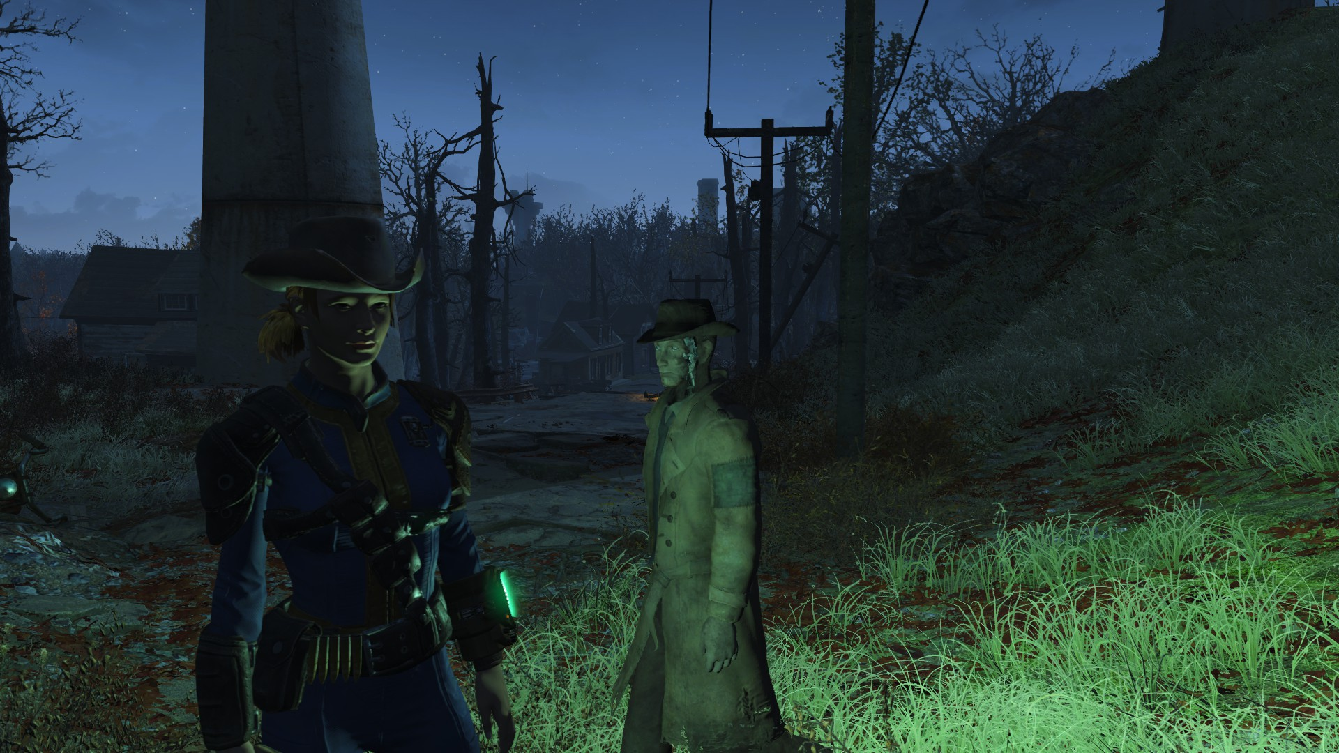 Adventuring with Nick Valentine